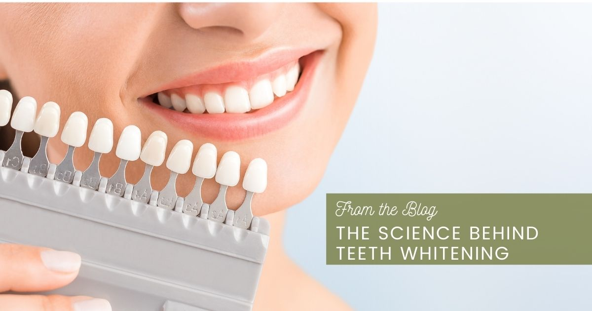science behind teeth whitening feature